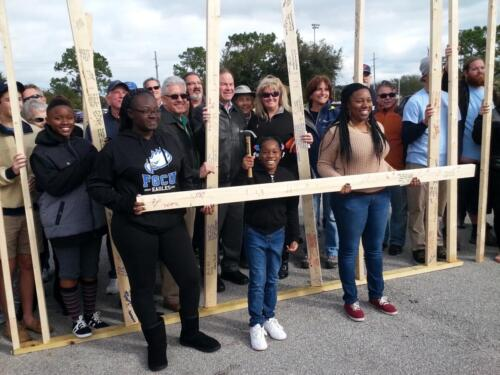 Local Mission partners of Eastminster Presbyterian Church ,Indialantic Florida. Habitat for Humanity.